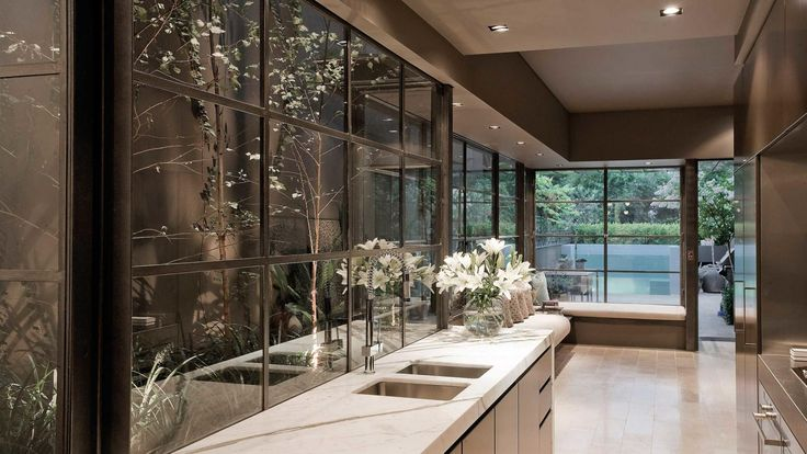 Black-frame windows & doors: getting them right. Photography by Josh Hill.