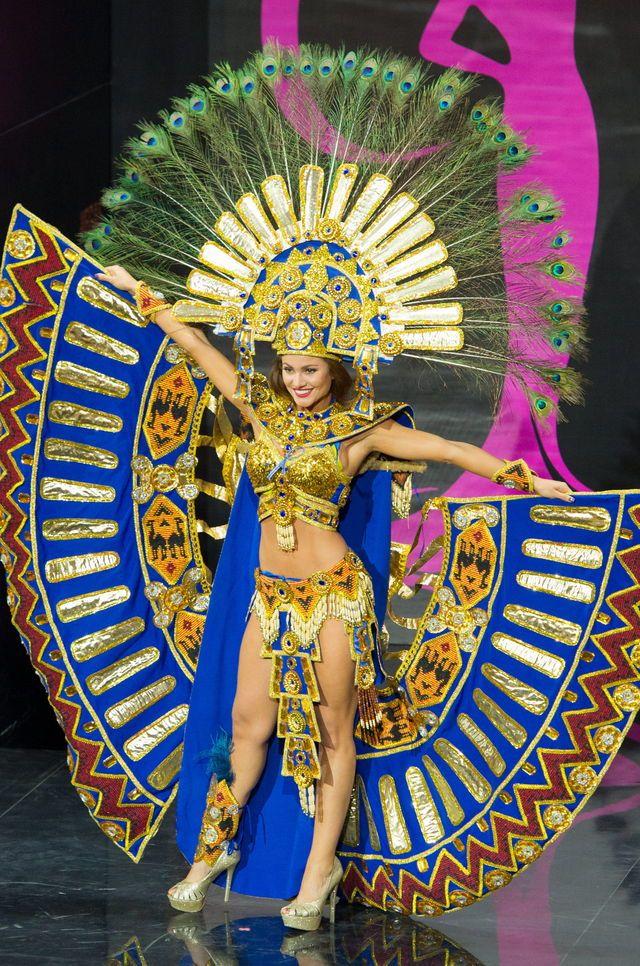 Traje Nacional en el Miss Universo