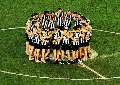 Collingwood football club 2010 premiers