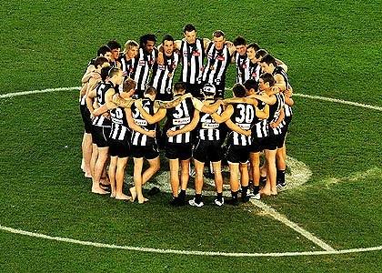 Collingwood football club 2010 premiers