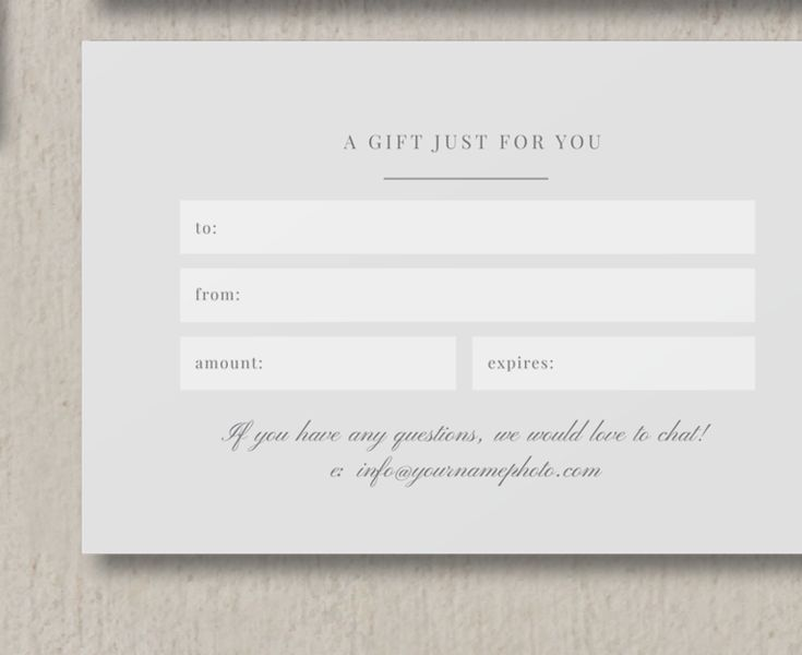 Best Images About Photography Gift Vouchers On   Gift