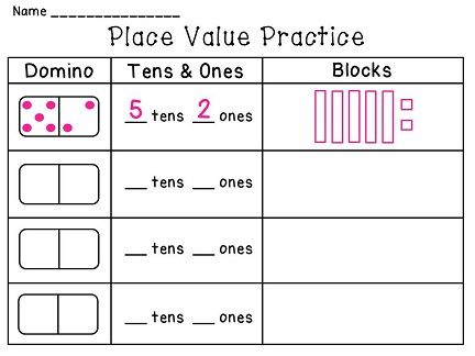 Game 2Nd Grade, Domino Math Games, Place Value Games First Grade, Math ...