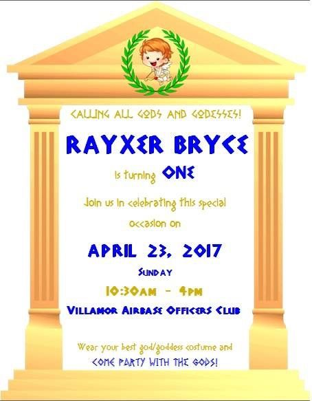 Greek Mythology Theme Party Invitation Greek In 2019