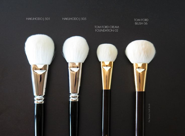 The Beauty Look Book: New Face and Cheek Brush Acquisitions: Chikuhodo, Hakuhodo and Hourglass