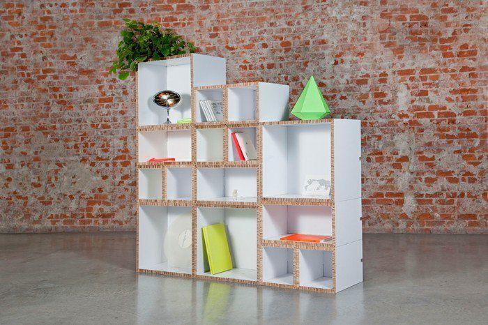 meuble en carton 60 id es que vous pouvez r aliser vous m mes projets essayer pinterest. Black Bedroom Furniture Sets. Home Design Ideas