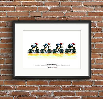 Team gb #men's cycling pursuit #team, london 2012 olympics art #poster a3 size,  View more on the LINK: 	http://www.zeppy.io/product/gb/2/331638334650/