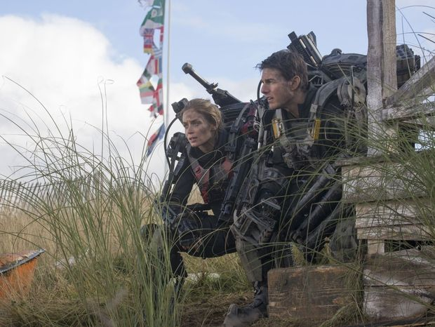 Edge of Tomorrow TF1 : 10 choses à savoir sur le film avec Tom Cruise [Photos]  Edge of Tomorrow TF1 : 10 choses à savoir sur le film avec Tom Cruise 1. Croisement d Un jour sans fin et Starship Troopers  Edge of Tomorrow s'inspire du roman d'Hiroshi Sakurazaka All you need is kill  adapté précédemment en manga.