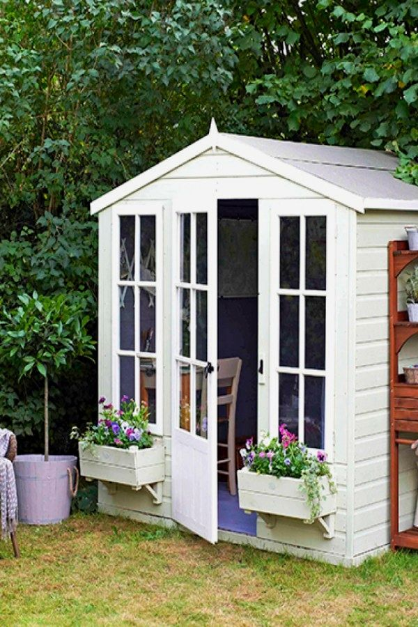 Simple Potting Shed transformation ideas for your landscaping - Potting Shed Designs