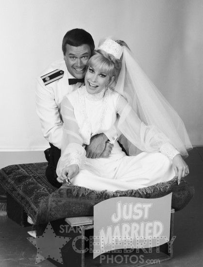 Larry Hagman & Barbara Eden