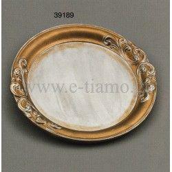 Ξύλινος Δίσκος Γάμου Σετ Κουμπάρου vintage