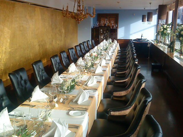 "Ресторан в Праге ""U zlate studne""."