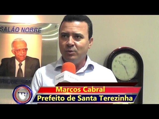 Mensagem de Natal - Prefeito Marcos Cabral Santa Terezinha de Goiás