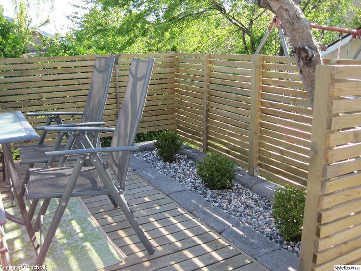 Bildresultat för inspiration trädgård radhus