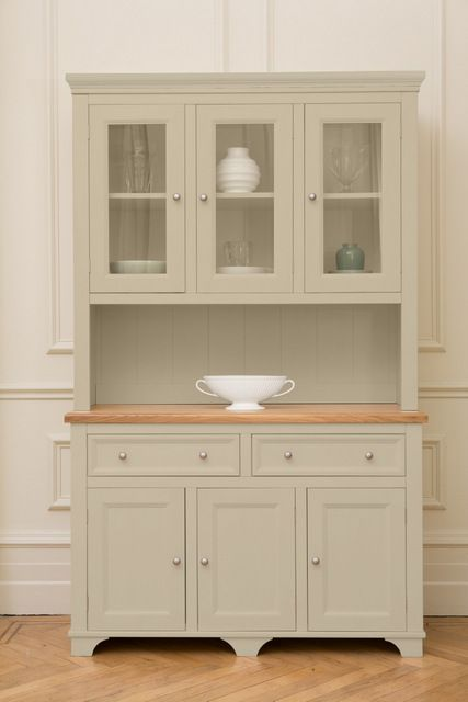 132cm Medium Dresser Painted In Old White By Farrow Ball