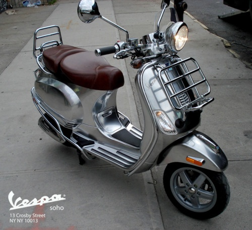 ..._Custom Chrome Vespa LXV