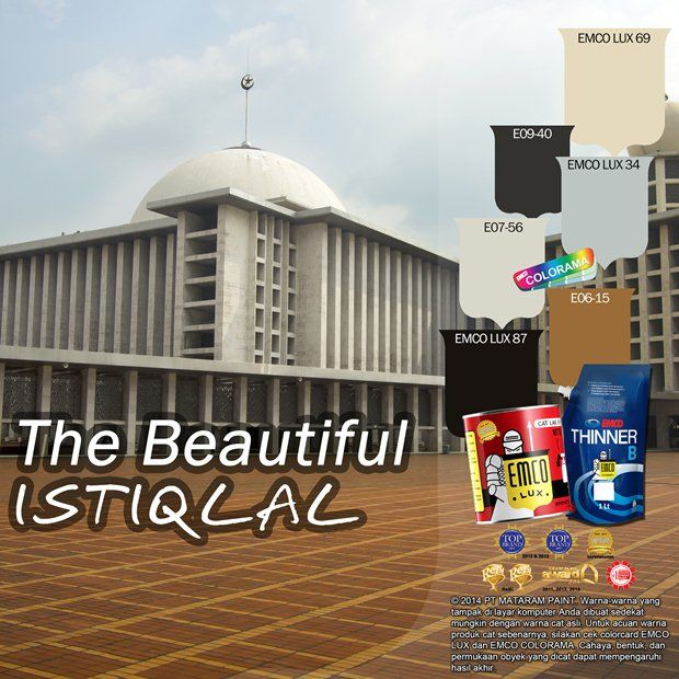 The Beautiful Istiqlal #Future #Color #EMCOPaint http://buff.ly/1vr7cYV