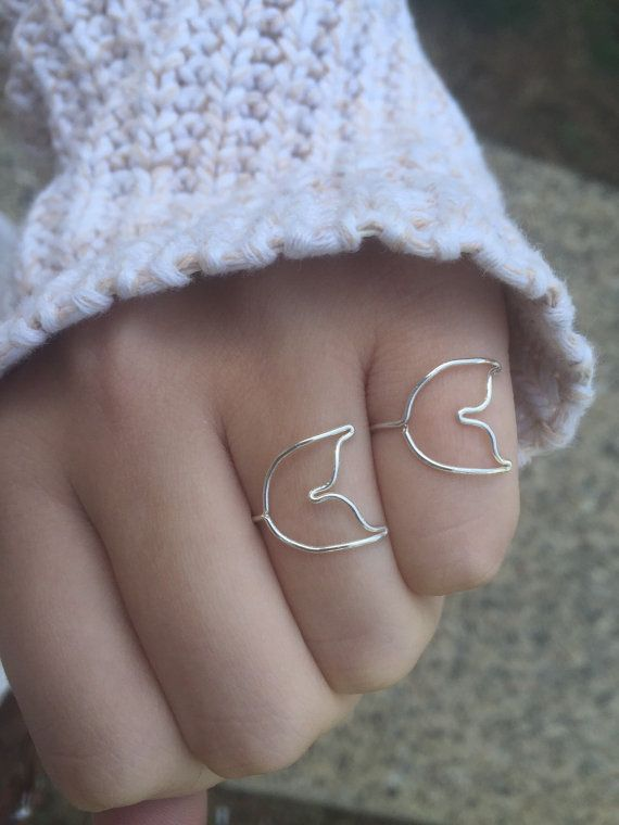 Hey, I found this really awesome Etsy listing at https://www.etsy.com/listing/196583199/mermaid-tail-ring-one-sterling-silver