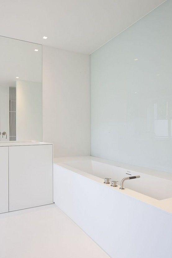 Compendious Minimalist Bathroom 25