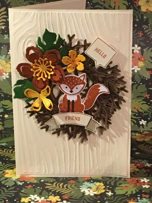 What a Fox!!! by RBB - Cards and Paper Crafts at Splitcoaststampers Foxy Friends, Botanical Builders