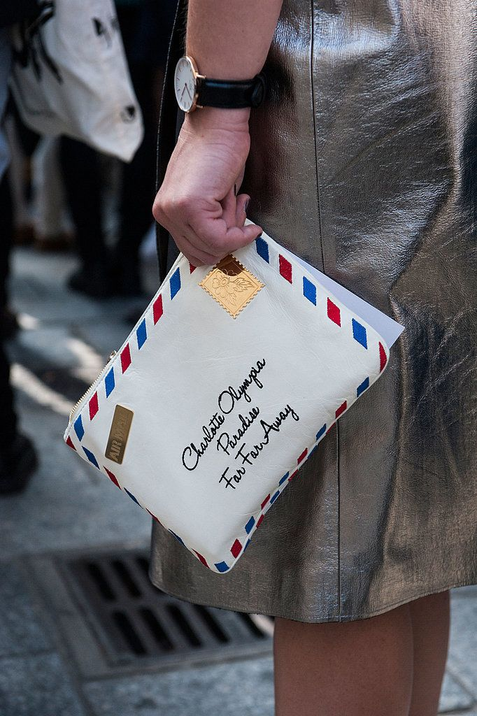 There's Something So Sleek About the PFW Street Style Accessories: If there&…