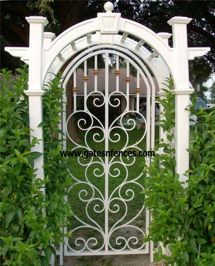 Delightful Wrought Iron Garden Gates Amazing Gates   Amazing Backyards With Iron Gate