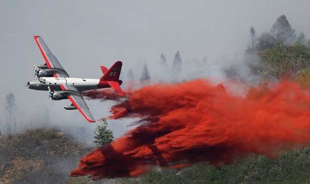 (Steve Griffin/The Salt Lake Tribune)  A plane drops its payload of fire retardant on a fire that burns in the mountains near Alpine, Utah Tuesday July 3, 2012.Griffin Th Salts, Steve Griffin Th, Wildland Firefighters, Forests Fire, Fire Retarded, Salts Lakes, Tuesday, Planes Drop, Lakes Tribune