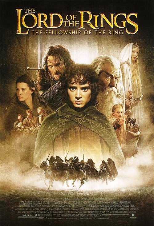 The Lord of the Rings the Fellowship of the Ring Movie ...