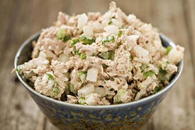 Best Tuna Salad. Tuna salads are like egg salads; people either love them or hate them. This tuna salad recipe is the best tuna salad I've ever had, and it's prepare with low-fat mayonnaise to keep things light!