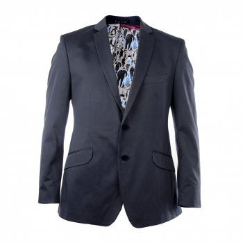 Fancy - 1 Like No Other Mens Blue Casual Suit Jacket - Coats & Jackets from Psyche UK