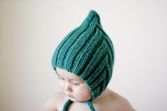 Chubby Pixie Teal Baby Size. Handmade by typicallyred on Etsy