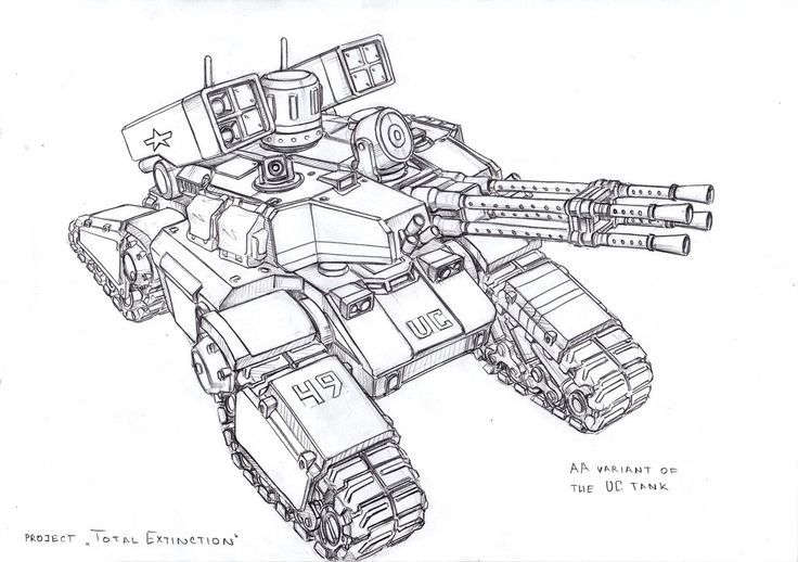 AA UC tank by TugoDoomER on DeviantArt ★ || CHARACTER DESIGN REFERENCES (https://www.facebook.com/CharacterDesignReferences & https://www.pinterest.com/characterdesigh) • Love Character Design? Join the #CDChallenge (link→ https://www.facebook.com/groups/CharacterDesignChallenge) Promote your art in a community of over 40.000 artists! || ★