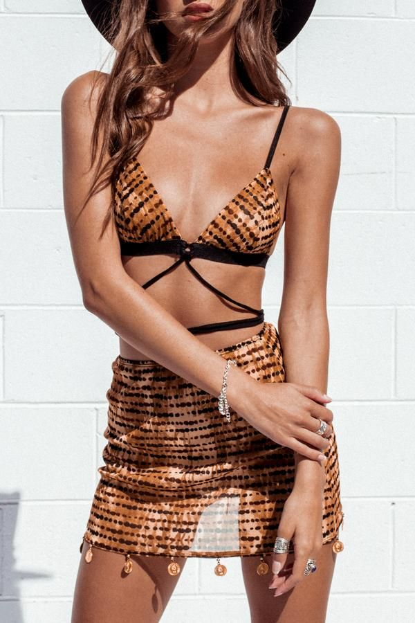 b80d7be842  HUNTER BRALETTE Her Pony The Label Modern vintage inspired pieces. Festival  fashion