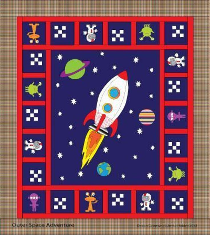 space shuttle quilt pattern - photo #43