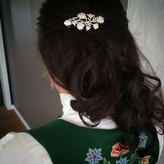 Image result for nordlandsbunad hårspenne