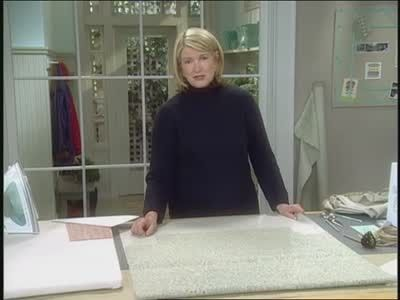 How to Make an Ottoman Slip Cover Videos | Crafts How to's and ideas | Martha Stewart