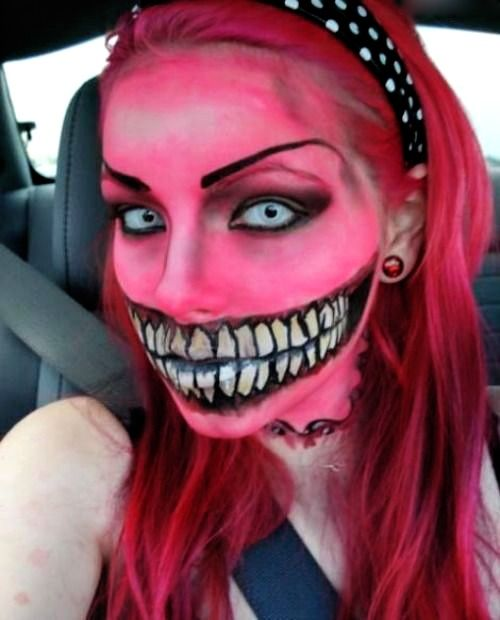 Crazy Halloween Decorations: Crazy Halloween Makeup