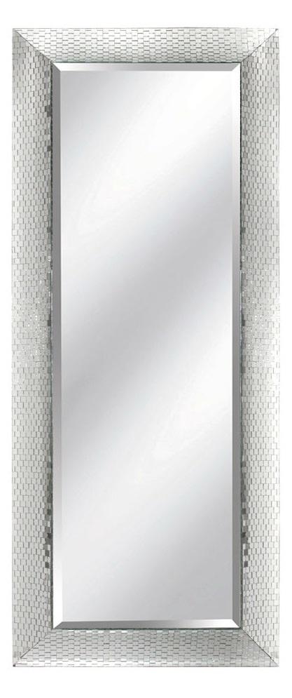 Floor Mirrors, Dressing Mirrors, Luxury Designer Mosaic Mirrored Floor Mirror…