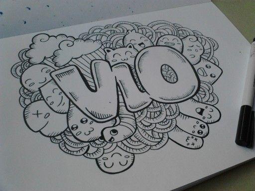 Doodle art name