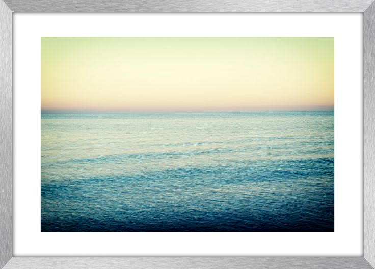 SERENITY | Landscape photography, sea, abstract, Greece, wall art, fine art print, canvas prints by KBphotostudio on Etsy