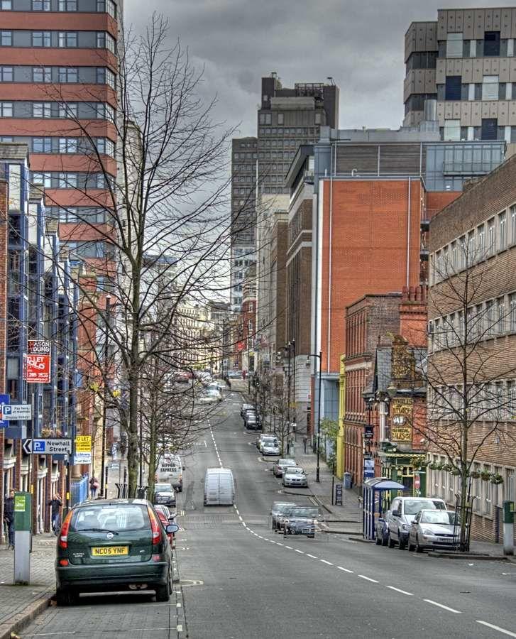 Newhall Street, Jewellery Quarter,Birmingham