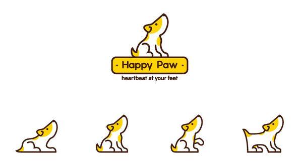 Happy Paw by CHEESEBANANA , via Behance
