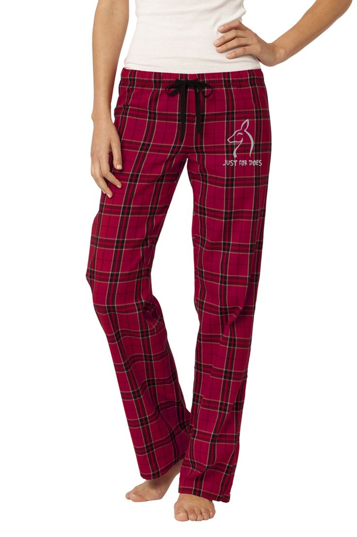 Sleepwear Flannel Pant & Shirt Gift Set - Just For Does