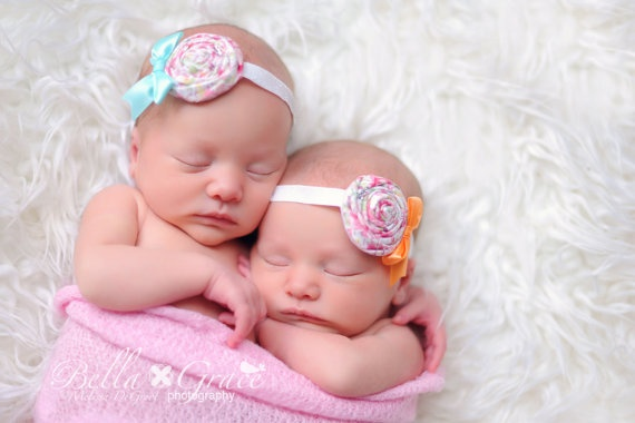twin baby girls!  I can see this, Christie!