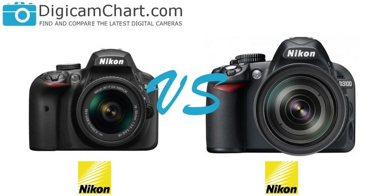 The side-by-side comparison of the Nikon D3400 and D3100 cameras. #cameras #comparison #NikonD3400 #NikonD3100