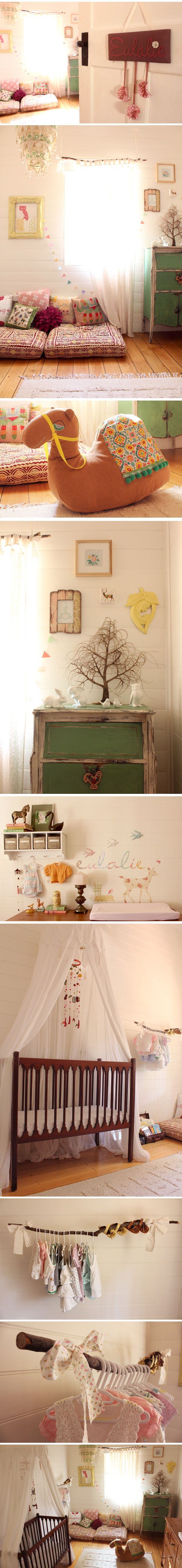 I'm obsessed with this nursery. Literally teared up when I saw these pictures!