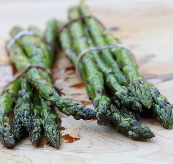Grilled. asparagus