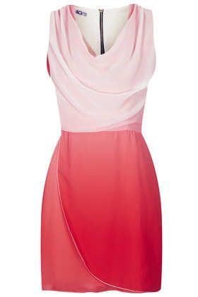 Tie Dye Cowl Neck Dress