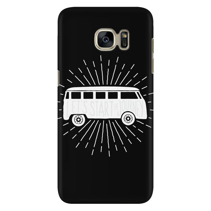 Lets Start The Journey Phone Case - Galaxy S7 - Black