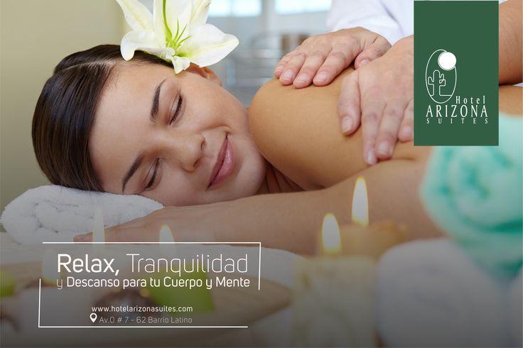 Dese un descanso, relaje su mente y su cuerpo después de un día de trabajo. Reservas 57 7 5726020 Ext 500 - 504 #Cucuta #Colombia #Spa #Relax  www.hotelarizonasuites.com