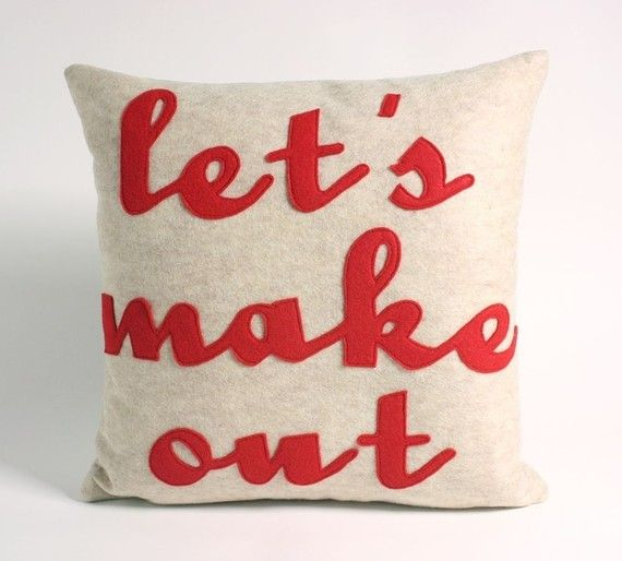 .: Bedrooms Redux, Beds Pillows, My Husband, Valentines Day, Master Bedrooms, Pillows Talk, Throw Pillows, Couch Pillows, Wedding Gifts